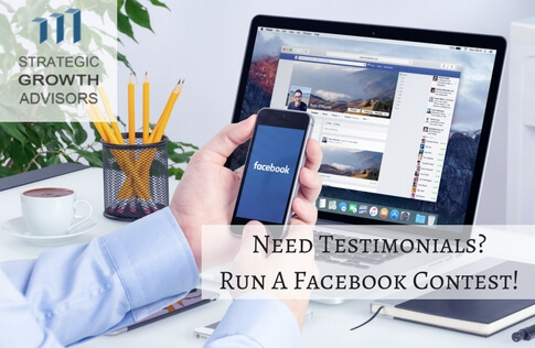Need Testimonials Run A Facebook Contest!