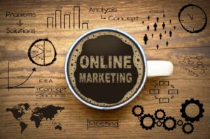 online marketing title image, problems and solutions