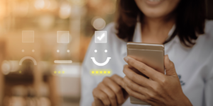 positive customer relationship